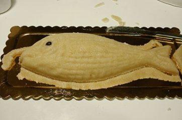 Pesce di pasta di mandorla 20