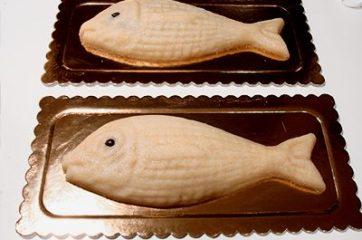 Pesce di pasta di mandorla 21
