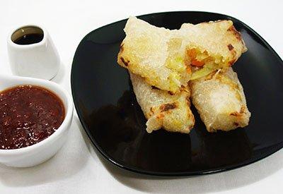 Involtini vietnamiti vegetariani