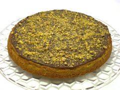 Cheesecake pistacchio e cioccolato fondente