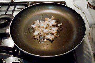 Pasta con zucca e lardo 1