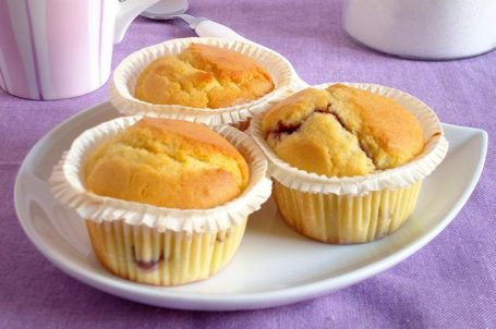 Muffin alla marmellata