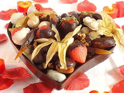 Cuore di cioccolato per San Valentino