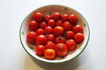 Pasta con i pomodori da pendola 1