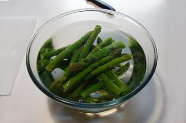 Pasta asparagi e speck 1