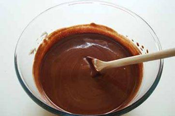 Mousse ai due cioccolati 8