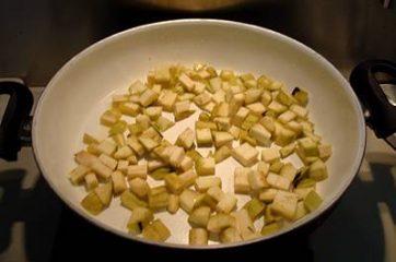 Pasta melanzane, pomodorini e bufala 4