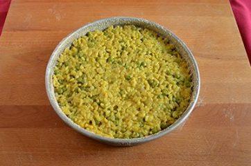Sformato di riso e piselli 8