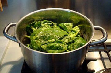 Soufflè di taglierini agli spinaci 1