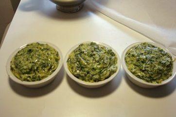 Soufflè di taglierini agli spinaci 12