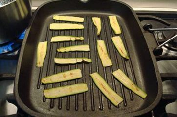 Insalata con praga zucchine e robiola 2