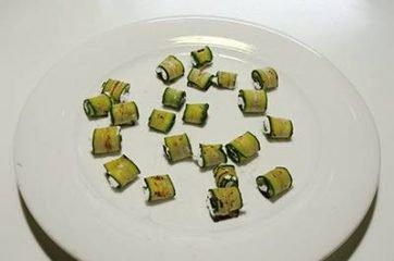 Insalata con praga zucchine e robiola 4