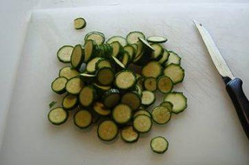 Pasta con ricciola zucchine e pomodorini 2