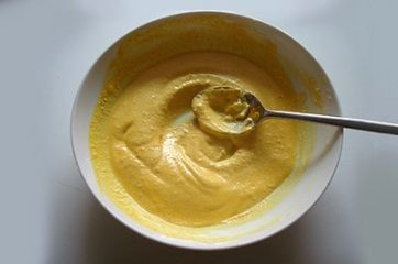 Pasta ricotta zucchine e curcuma 4