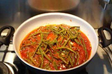 Spaghetti con i fagiolini 5