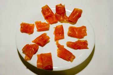 Insalata con salmone affumicato 6
