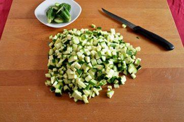 Risotto con le zucchine 1