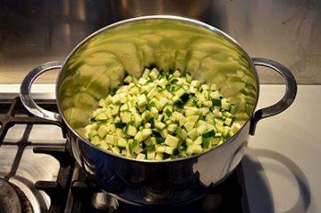 Risotto con le zucchine 4