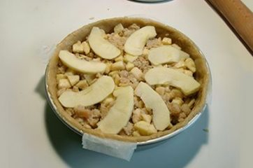 Torta di mele e pane 11