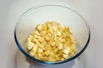 Torta di mele e pane 3