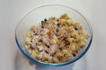 Torta di mele e pane 5