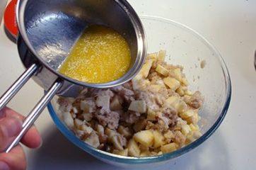 Torta di mele e pane 6