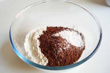 Muffin al cacao 1