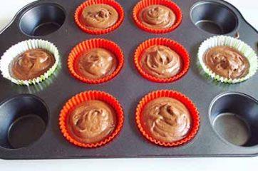 Muffin al cacao 5