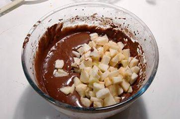 Torta pere e cioccolato 6