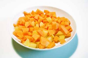 Vellutata di zucca e patate speziata 1