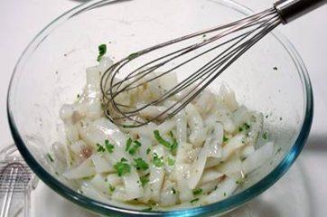 Calamari e patate al forno 5