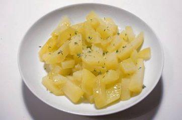 Calamari e patate al forno 6