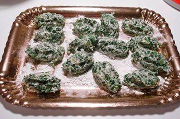 Gnocchi di ricotta e spinaci 8
