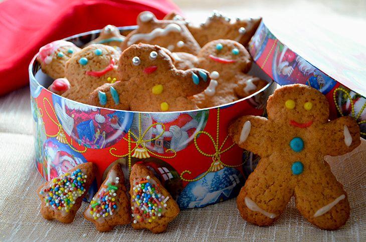 Gingerbread (Biscotti di pan di zenzero)