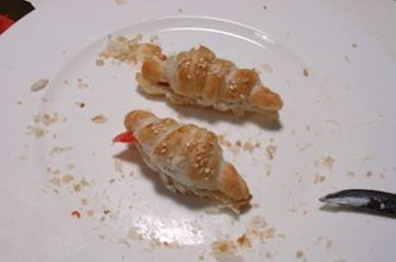 cornetti di pasta sfoglia al salmone 14