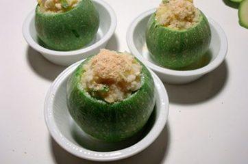 Zucchine ripiene vegetariane 10