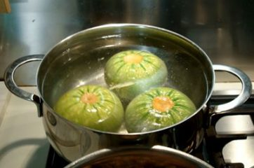 Zucchine ripiene vegetariane 2