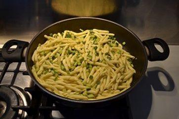 Pasta con le zucchine 5