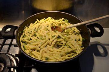 Pasta con le zucchine 6