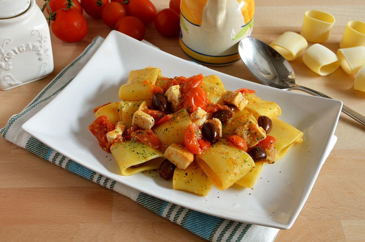 Pasta Con Pesce Spada E Pomodorini La Ricetta Della Cucina Imperfetta