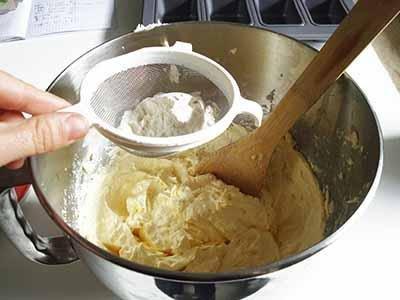 Kinder Paradiso: unire la farina e la fecola