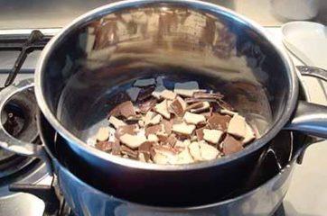 Muffin con cioccolato Kinder 1