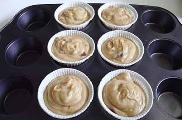 Muffin con cioccolato Kinder 8