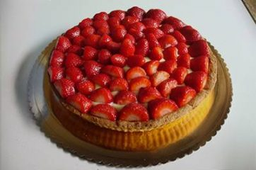 Crostata di fragole 14