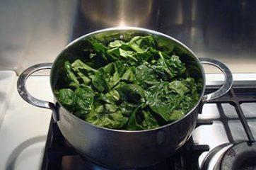 Frittata di spinaci al forno 1