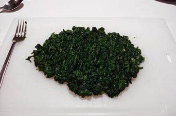 Frittata di spinaci al forno 2