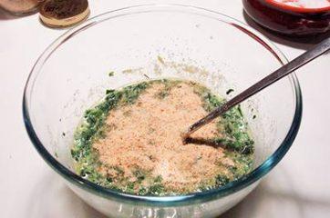 Frittata di spinaci al forno 6