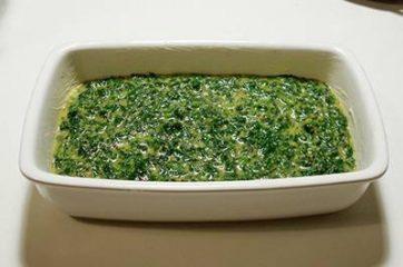 Frittata di spinaci al forno 7