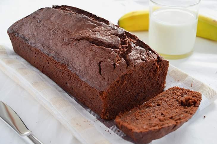 Plumcake banana e cioccolato