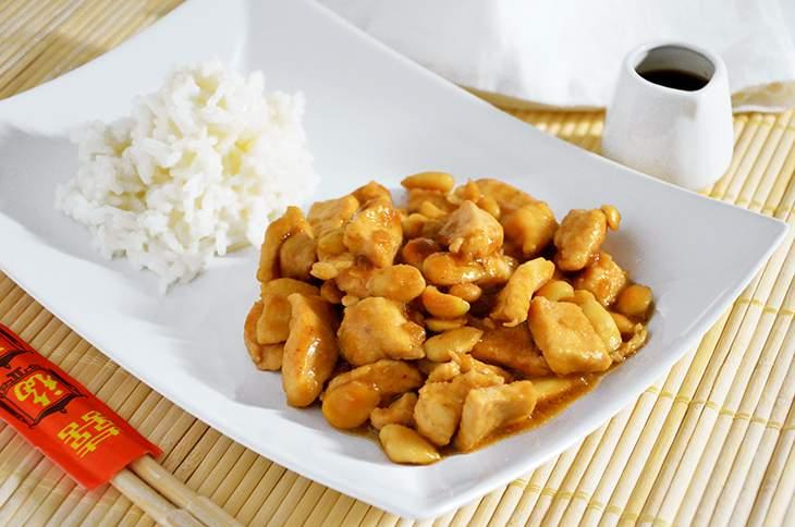 Pollo alle mandorle la ricetta della cucina imperfetta for Menu cinese ricette